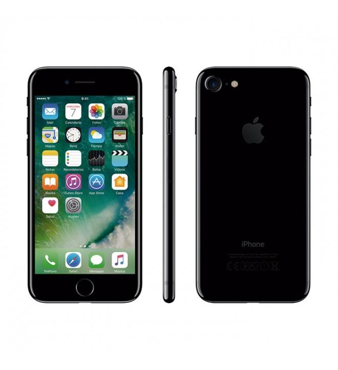 "Apple iPhone 7 - Smartphone 128GB, 4.7"", Pantalla Retina HD, 12Mpx, Grabación Ultra HD, (MN962QL/A), color Negro Brillante"