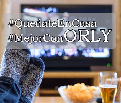 #QuedateEnCasa y disfruta con ORLY de las mejores ofertas en tecnología, videojuegos, smartphones y SmartTV